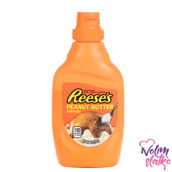 Reeses Peanut Butter Topping 198g 2