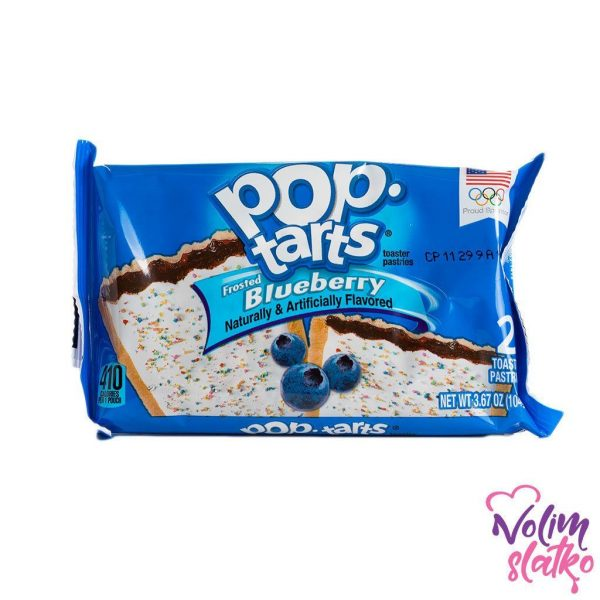 Pop Tarts Frosted Blueberry 104g 1