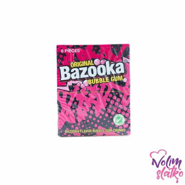 Bazooka Original Bubble gum - original/malina 33g 1