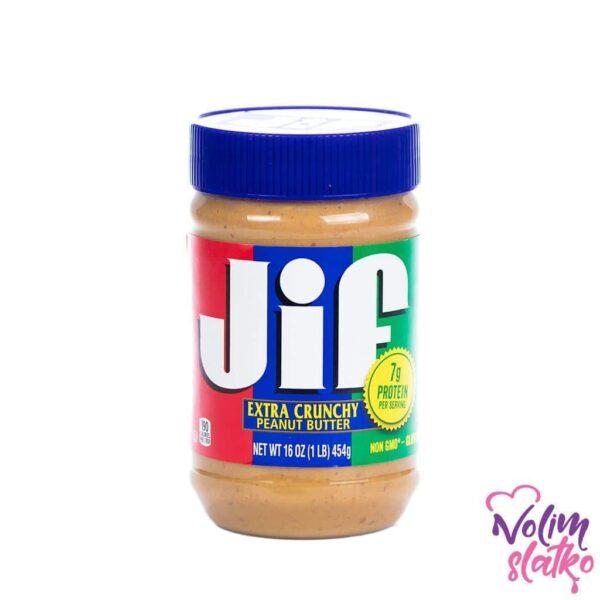 Jif Extra Crunchy Peanut Butter 464g 1
