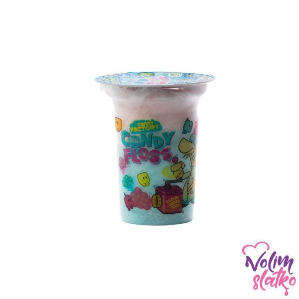 Crazy Candy Factory Candy Floss Cups 20g 1