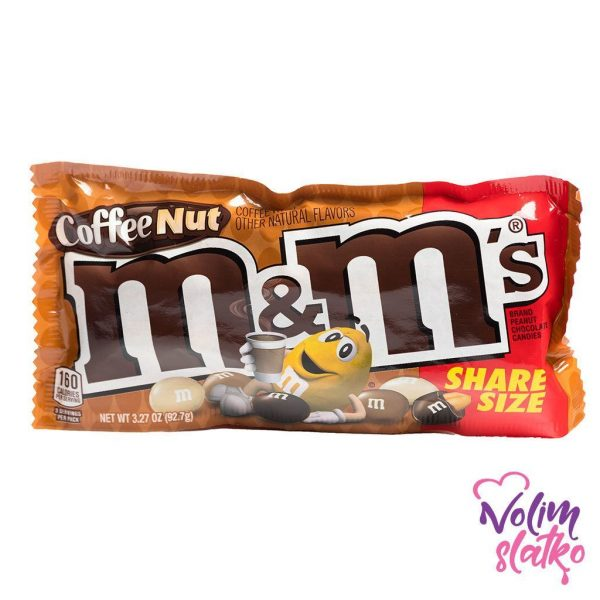 Coffee Nut M&M's (Sharing Size) 92,7g 1