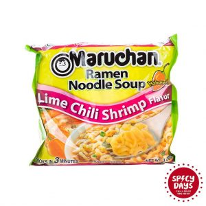 Maruchan Lime Chili Shrimp Ramen Noodles 85g 3