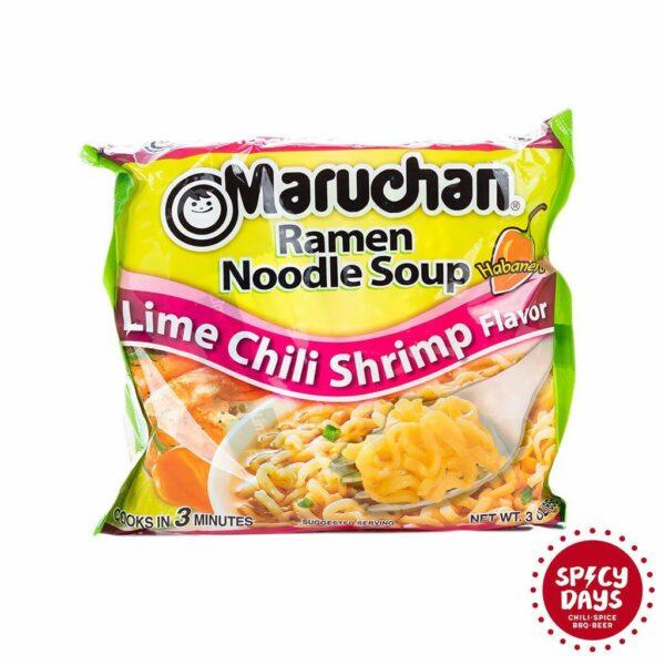 Maruchan Lime Chili Shrimp Ramen Noodles 85g 2