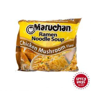 Maruchan Chicken Mushroom Ramen Noodle Soup 85g 3
