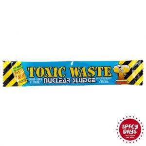 Toxic Waste Nuclear Sludge Blue raspberry flavour chew bar 20g 3