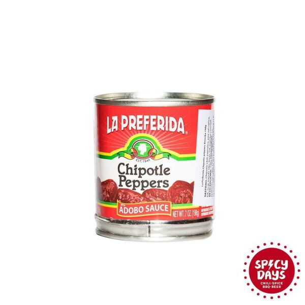 La Preferida Chipotle papričice limenka 198g 3
