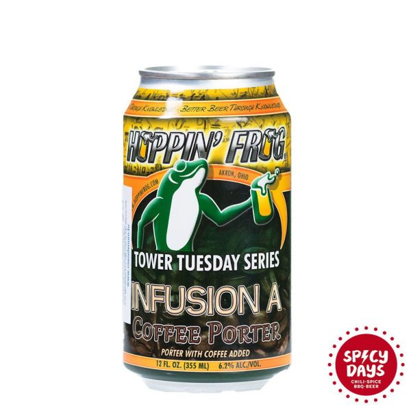 Hoppin Frog - Infusion A Coffee Porter 0,355l 2
