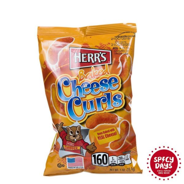 Herr's Baked Cheese Curls 28,4g 1