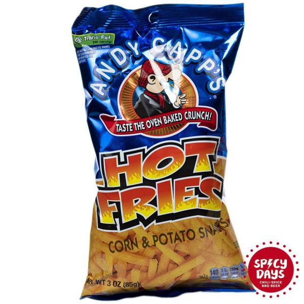 Andy Capp Hot Fries 85g 1