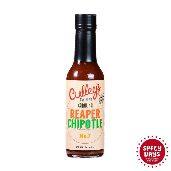 Culley's Carolina Reaper Chipotle No. 7 ljuti umak 148ml 3