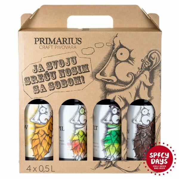 Primarius 4-pack poklon paket 4x0,50l 1