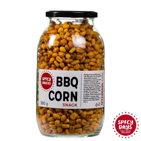 BBQ corn snack 580g 2