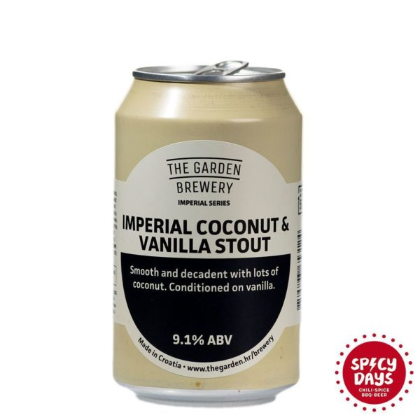 Garden Brewery Imperial Coconut & Vanilla Stout 0,33l 1