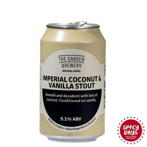 Garden Brewery Imperial Coconut & Vanilla Stout 0,33l 2