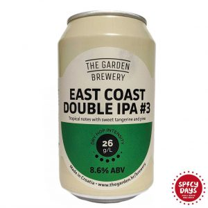 Garden Brewery East Coast DIPA 3 0,33l 3