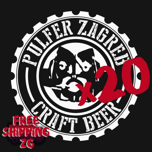Karton piva Pulfer pivovare 1