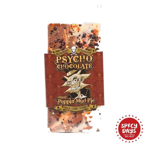 Psycho Chocolate poppin' mud pie čokolada 100g 1