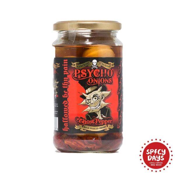 Psycho onions Ghost pepper ukiseljeni luk 450g 1