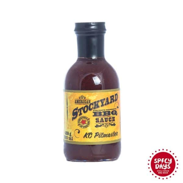 Stockyard KC Pitmaster BBQ umak 350ml 1