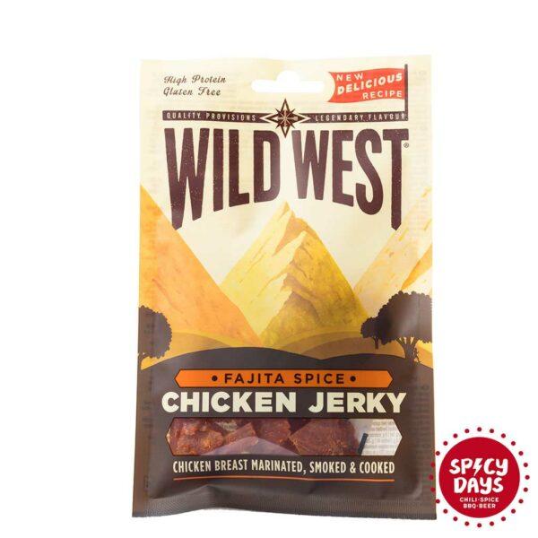 Wild West Fajita Spice Chicken Jerky 25g 1