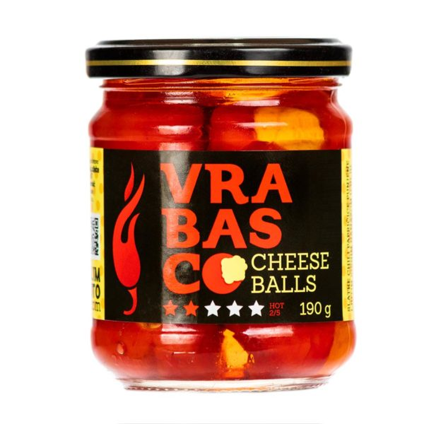 Vrabasco Cheese Balls papričice punjene sirom 190g 1