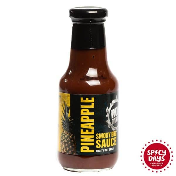 Hot Headz Pineapple Smoky BBQ umak 345g 1