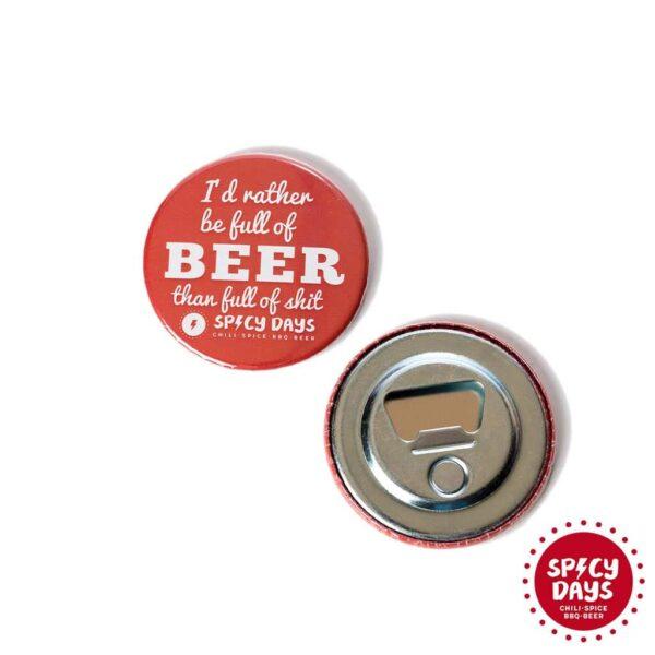 Full Of... otvarač za pivo 1