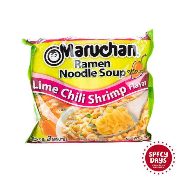 Maruchan Lime Chili Shrimp Ramen Noodles 85g 1
