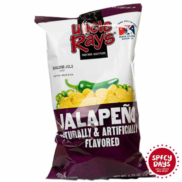 Uncle Ray's Potato Chips Jalapeno 120g 1