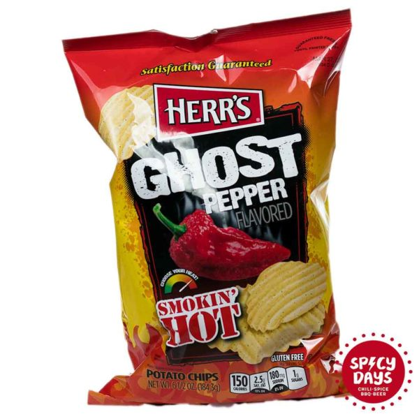 Herr's Ghost Pepper čips 184,3g 1