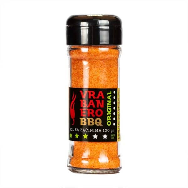 Vrabanero BBQ Original sol 100g 1