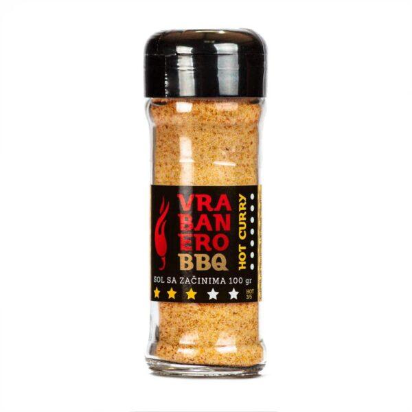 Vrabanero BBQ sol Curry 100g 1