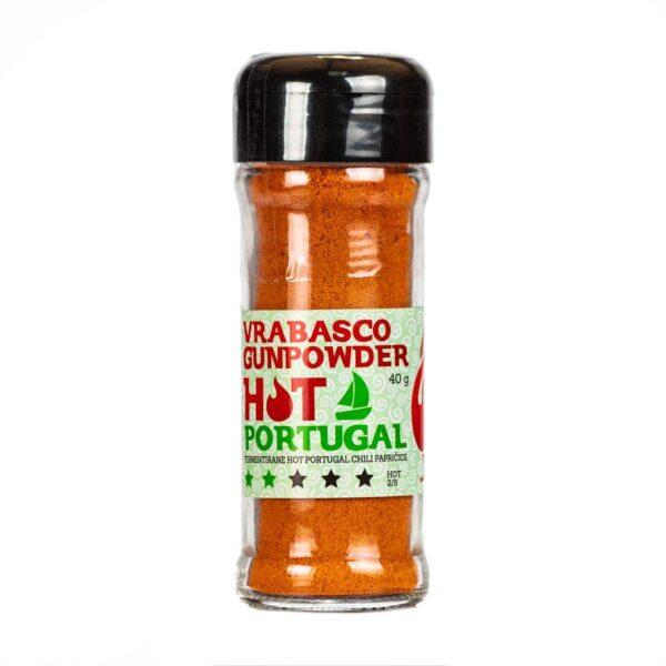 Vrabasco Gunpowder Hot Portugal 40g 1