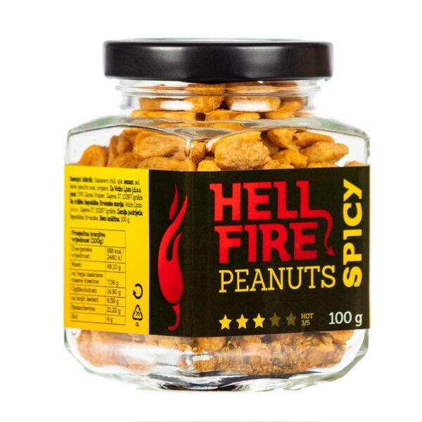 Hellfire Peanuts Spicy ljuti kikiriki 100g 1