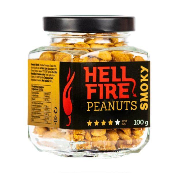 Hellfire Peanuts Smoky ljuti kikiriki 100g 1