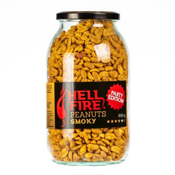 Hellfire Peanuts Smoky Party edition ljuti kikiriki 850g 1
