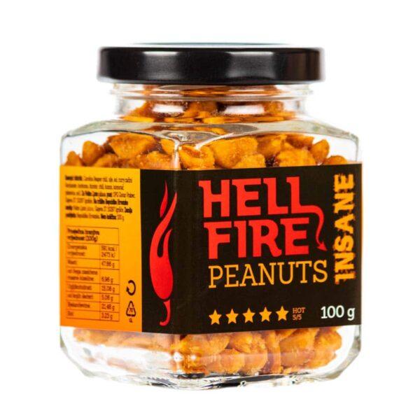 Hellfire Peanuts Insane ljuti kikiriki 100g 1