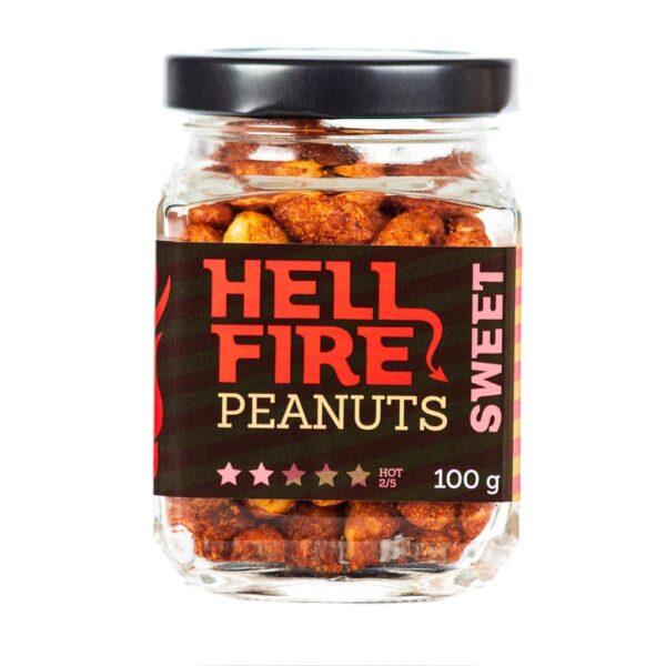 Hellfire Peanuts Sweet ljuti kikiriki 100g 2