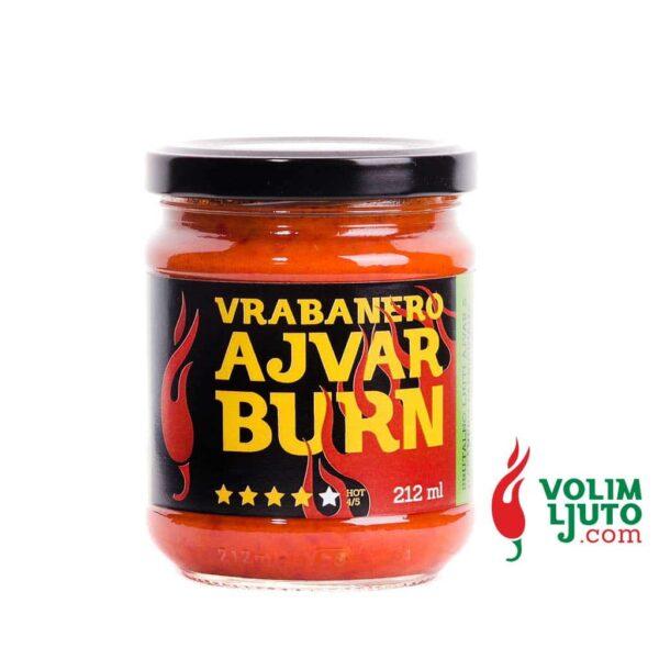 Vrabanero Ajvar Burn 212ml 1
