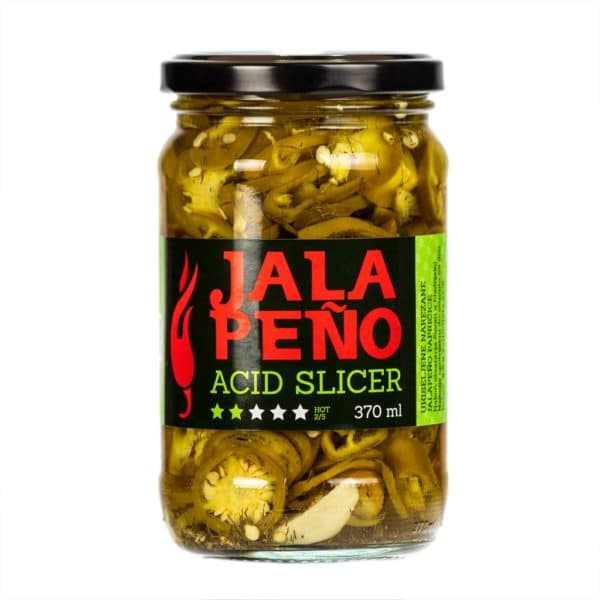 Jalapeno Acid Slicer ukiseljene papričice 370ml 1