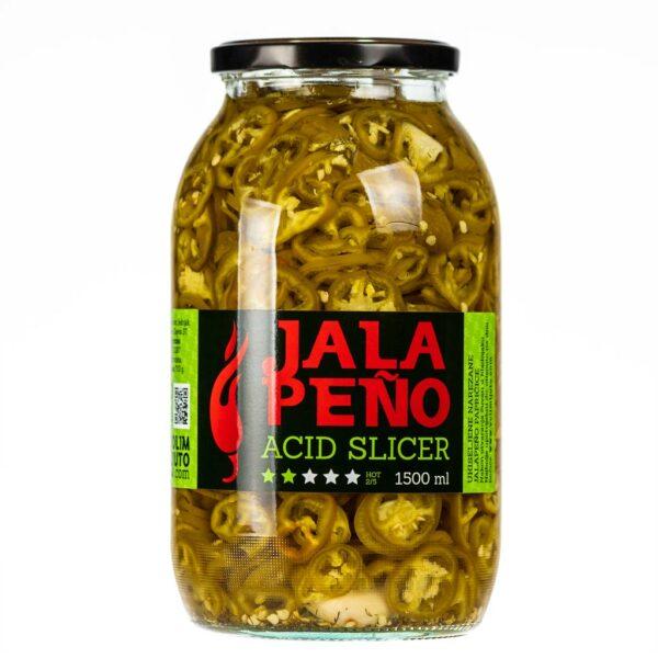 Jalapeno Acid Slicer ukiseljene papričice 1500ml 1