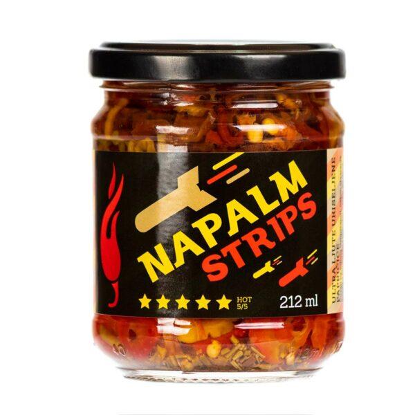 Napalm Strips ukiseljene papričice 212ml 1