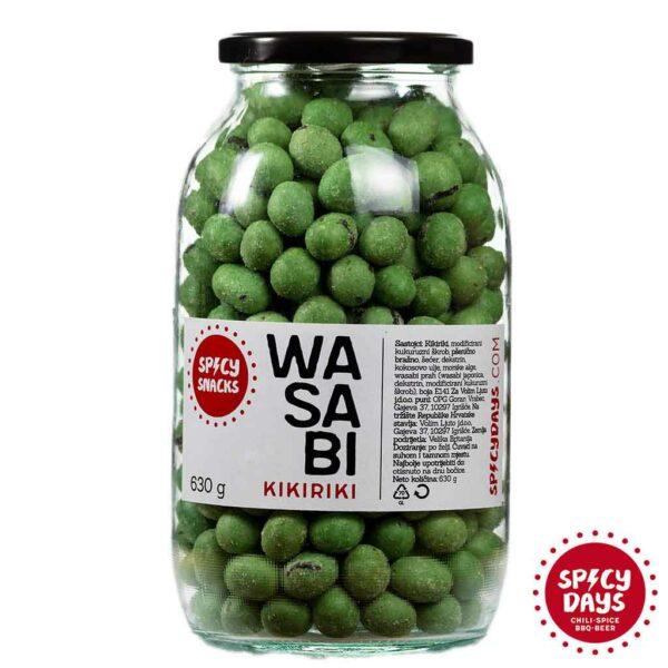 Wasabi kikiriki 630g 1