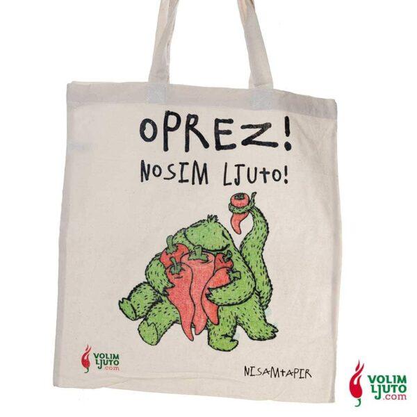 Nosim Ljuto torba za kupovinu 1