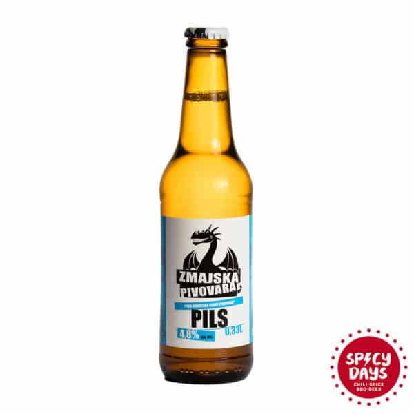Zmajska pivovara Pils 0,33l 1
