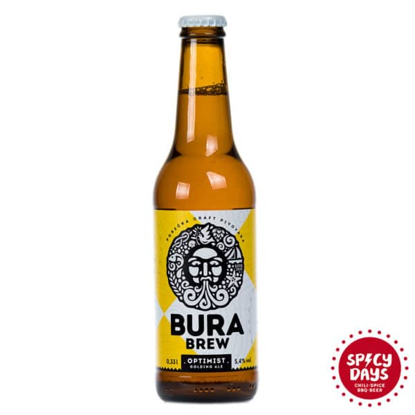 Bura Brew Optimist Golding Ale 0,33l 1