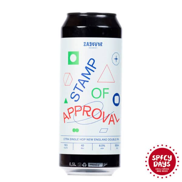 Zagovor Brewery Stamp Of Approval 0,50l 1