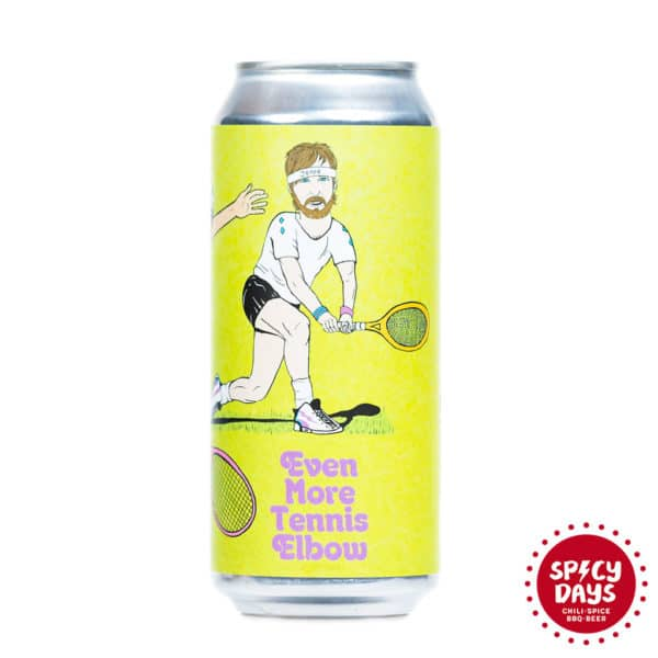 EvilTwin / Hoof Hearted Brewing - Even More Tennis Elbow 0,473l 1