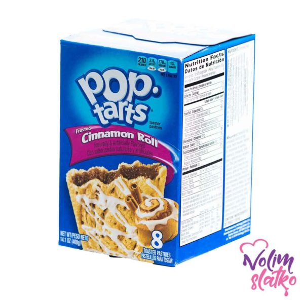 Pop Tarts Frosted Cinnamon Roll 400g 1